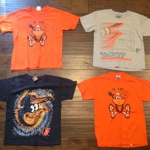 Other - Let's Go O's! 4 Orioles T-shirts - Bundle - Lot